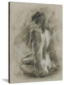 Charcoal Figure Study II by Ethan Harper