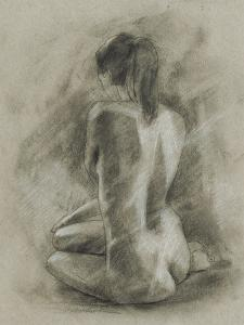 Charcoal Figure Study II by Ethan Harper