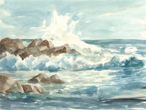 Coastal Watercolor I by Ethan Harper