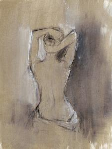 Contemporary Draped Figure I by Ethan Harper