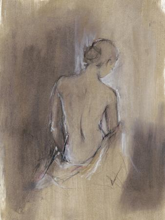 Contemporary Draped Figure II by Ethan Harper