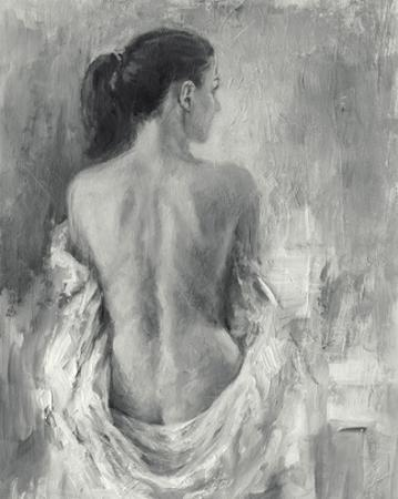 Draped Figure I by Ethan Harper