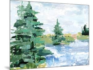 Evergreen Lake I by Ethan Harper