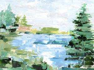 Evergreen Lake II by Ethan Harper