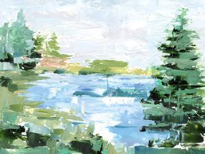 Evergreen Lake II by Ethan Harper