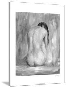 Figure in Black and White II by Ethan Harper