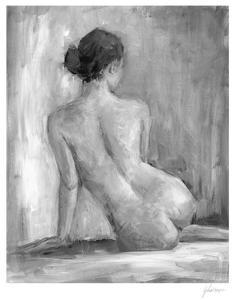 Figure in Black & White I by Ethan Harper