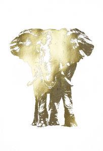 Gold Foil Elephant II by Ethan Harper