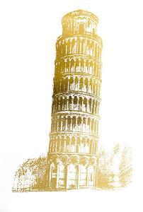 Gold Foil Pisa by Ethan Harper