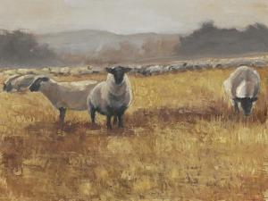 Grazing at Sunset I by Ethan Harper