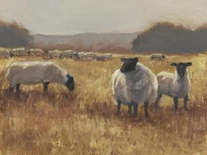 Grazing at Sunset II by Ethan Harper