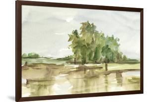 Muted Watercolor II by Ethan Harper