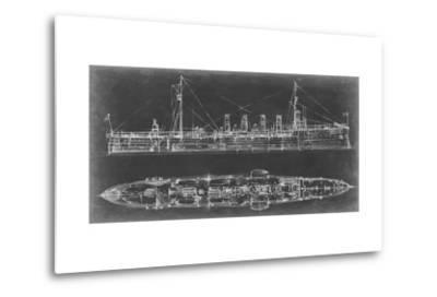 Navy Cruiser Blueprint