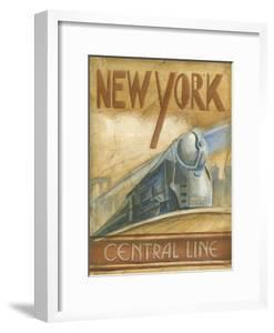 New York Central Line by Ethan Harper