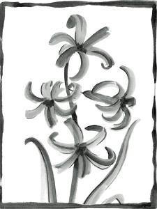 Non-embellished Sumi-e Floral III by Ethan Harper