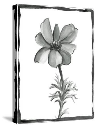 Non-embellished Sumi-e Floral IV