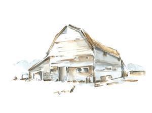 Roadside Barn II by Ethan Harper