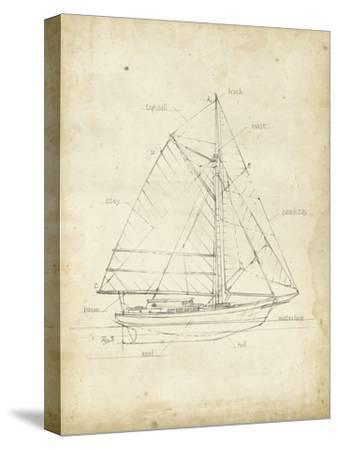 Sailboat Blueprint III