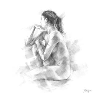 Seated Figure Study II by Ethan Harper