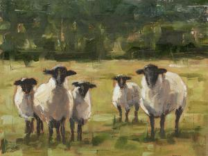 Sheep Family I by Ethan Harper