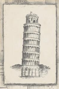 Sketch of Pisa by Ethan Harper