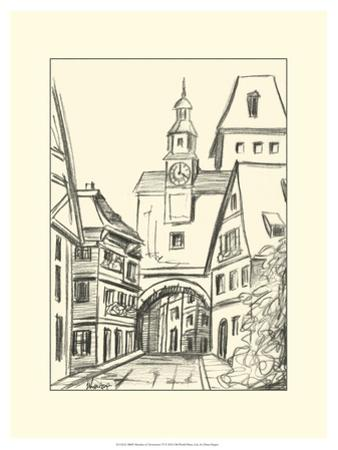 Sketches of Downtown VI by Ethan Harper