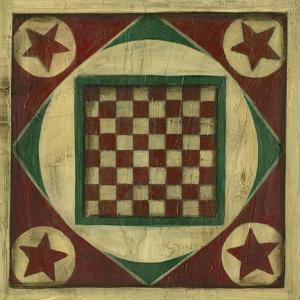 Small Antique Checkers by Ethan Harper