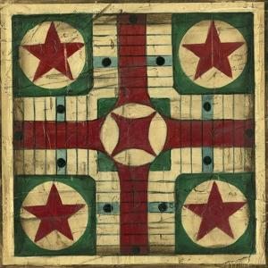 Small Antique Parcheesi by Ethan Harper