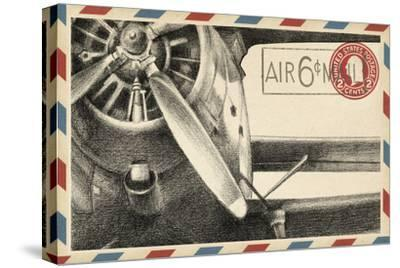 Small Vintage Airmail II