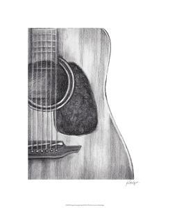 Stringed Instrument Study III by Ethan Harper