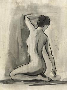Sumi-e Figure I by Ethan Harper
