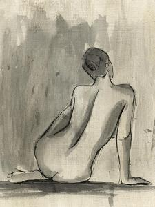 Sumi-e Figure II by Ethan Harper