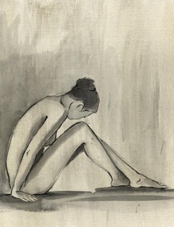 Sumi-e Figure III by Ethan Harper