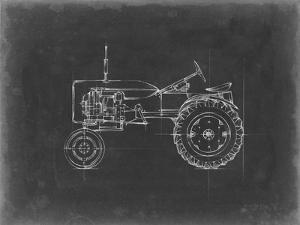 Tractor Blueprint III by Ethan Harper