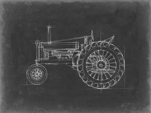 Tractor Blueprint IV by Ethan Harper