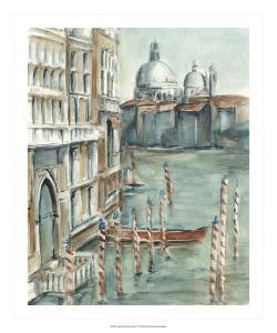 Venetian Watercolor Study I by Ethan Harper