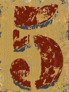 Vintage Numbers V by Ethan Harper