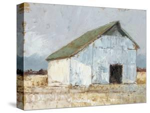 Whitewashed Barn I by Ethan Harper