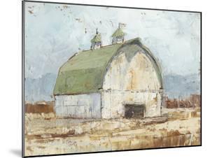 Whitewashed Barn III by Ethan Harper