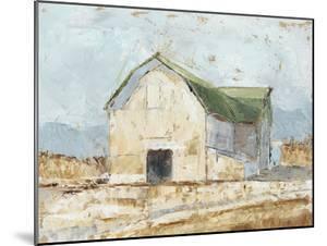Whitewashed Barn IV by Ethan Harper