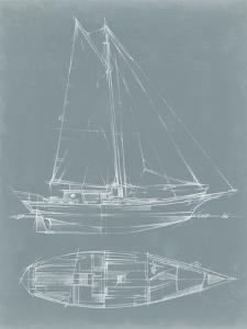 Yacht Sketches III by Ethan Harper