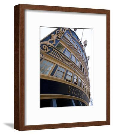 Admiral Nelson's Ship, Hms Victory, Portsmouth Historic Docks, Portsmouth, Hampshire, England, UK