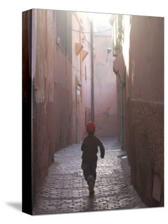 Back Street of Marrakech, Morocco, North Africa, Africa