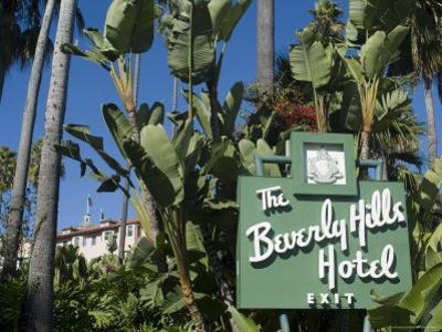 Beverly Hills Hotel, Beverly Hills, California, USA
