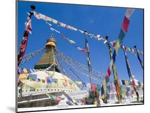 Boudhanath (Bodhnath) Stupa, Unesco World Heritage Site, Kathmandu, Nepal by Ethel Davies