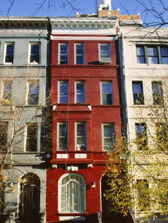 Brownstone, Upper West Side, New York City, New York, USA