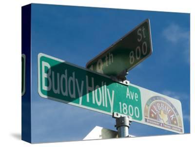 Buddy Holly Avenue, Lubbock, Texas, USA