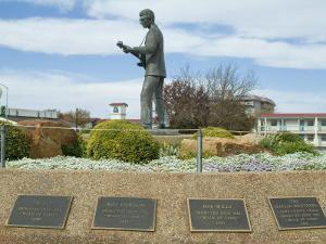 Buddy Holly, Walk of Fame, Lubbock, Texas, USA by Ethel Davies