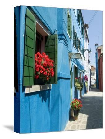 Burano, Island Near Venice, Veneto, Italy