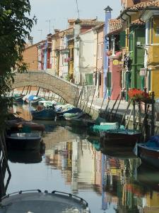 Burano, Island Near Venice, Veneto, Italy by Ethel Davies